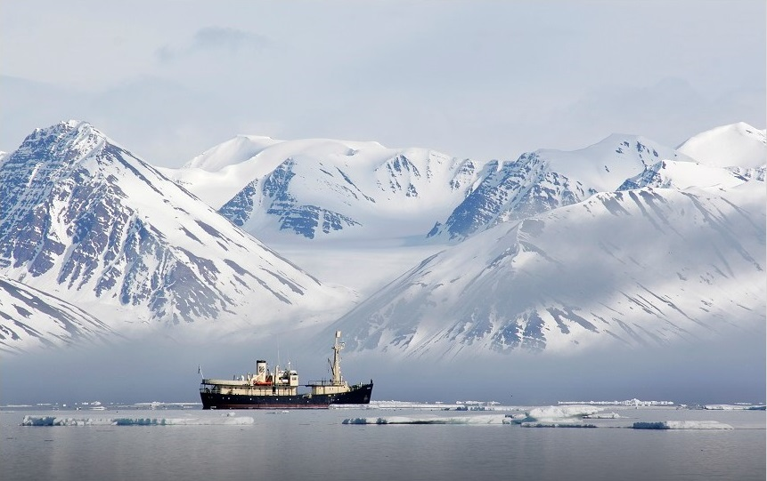 Spitsbergen is off the beaten track