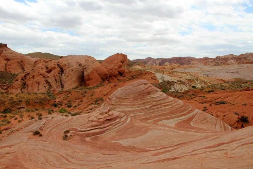 The Wave, een rotsformatie in Valley of Fire State Park