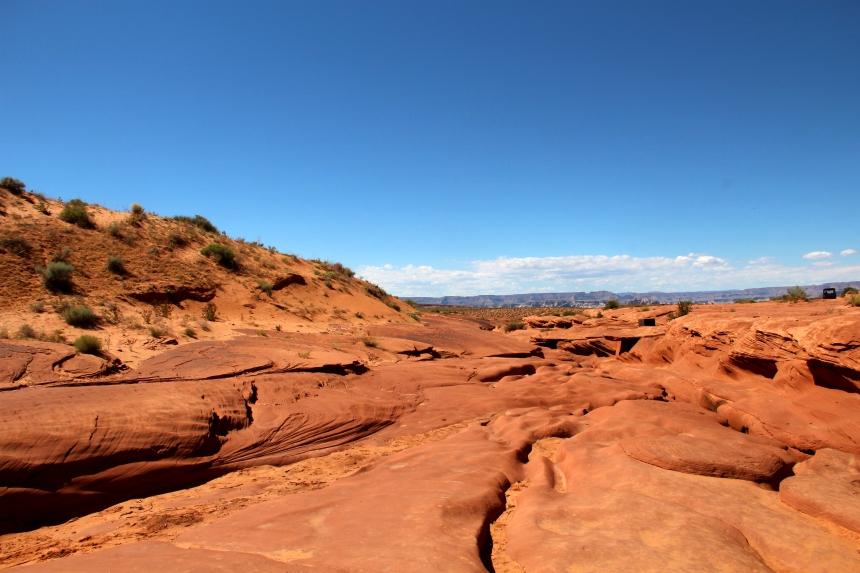 Antelope Canyon in Page, Verenigde Staten