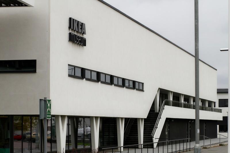 Het IKEA museum is gehuisvest in de allereerste IKEA-vestiging