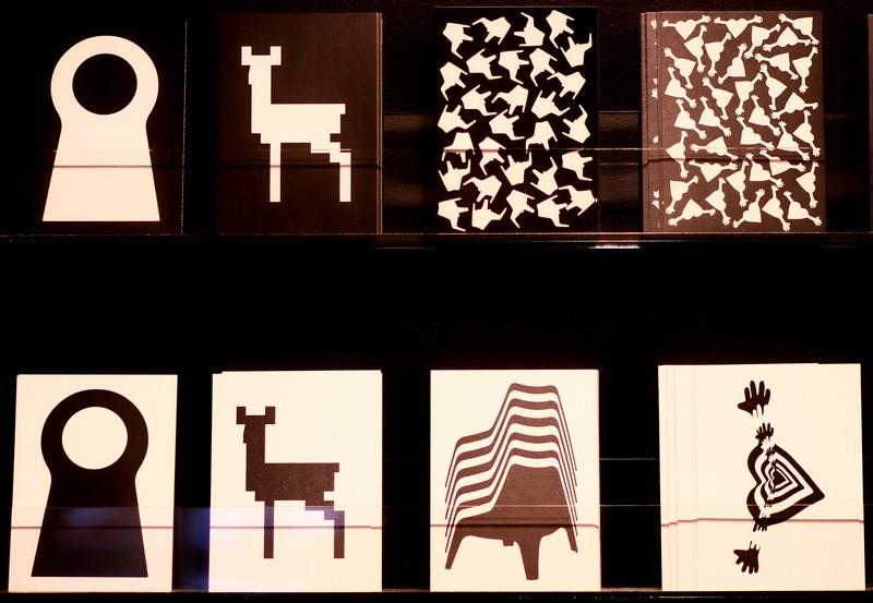 Kaarten met typische IKEA-ontwerpen