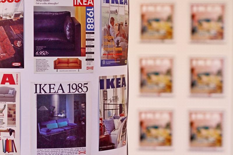 Alle gidsen zijn te zien in het IKEA museum