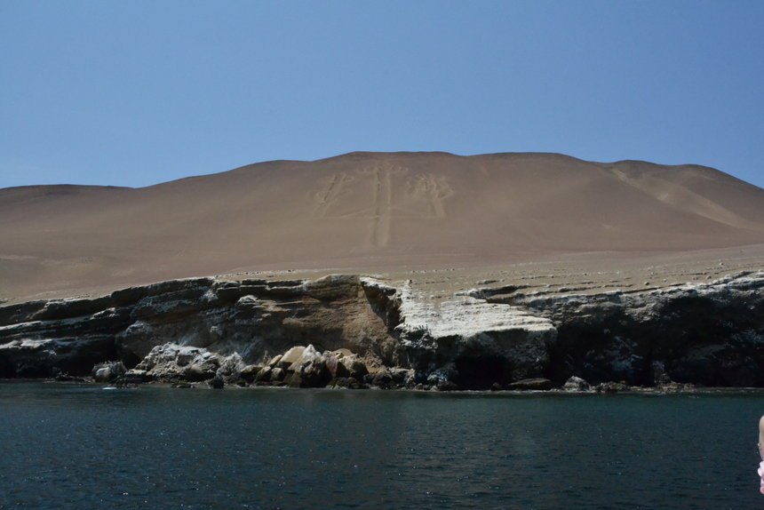 Nazcalijnen vanaf het water