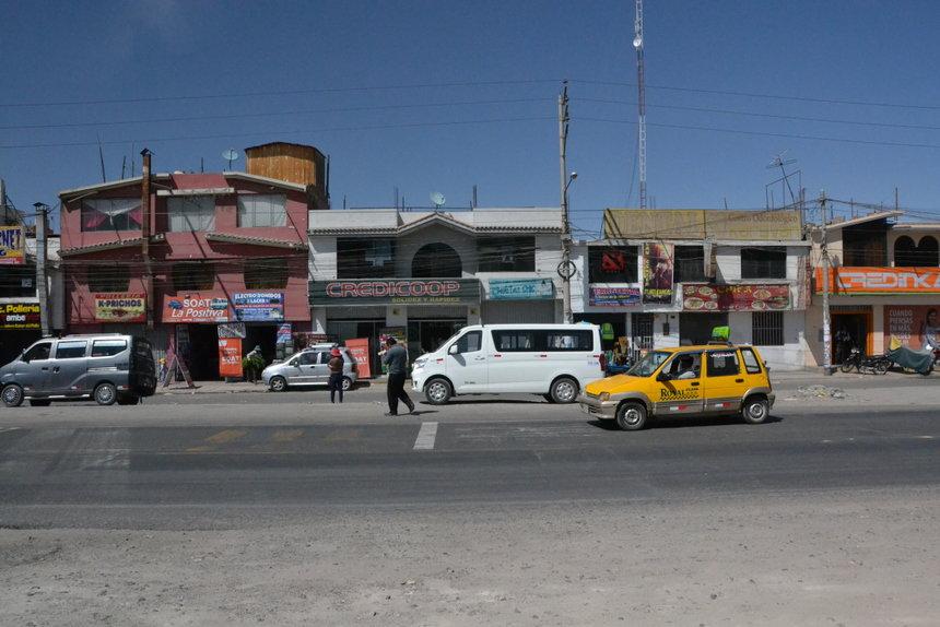 verkeer in Arequipa