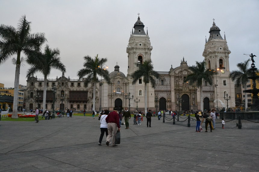 Plaza Mayor of Plaza de Armas van Lima
