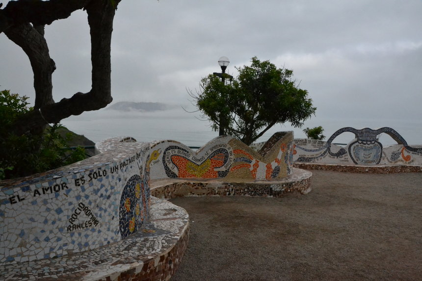 Parque del Amor, het park van de liefde in Lima