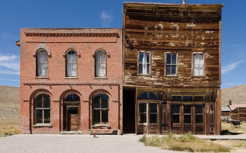 Misschien sliep Jesse James hier ooit? Of Butch Cassidy?