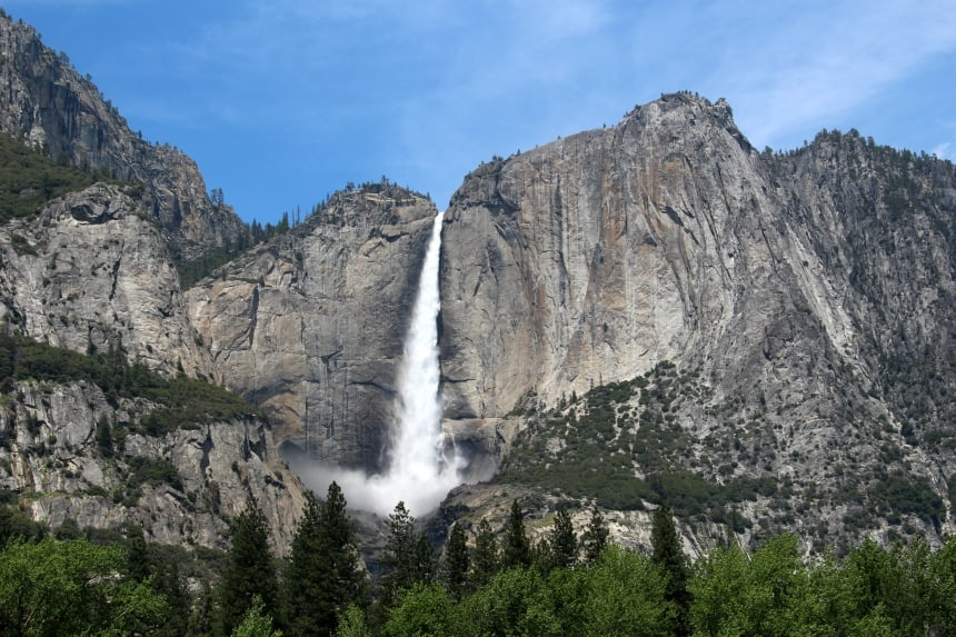 Yosemite National Park heeft veel watervallen