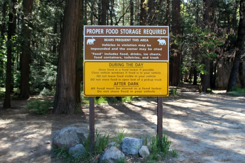 Praktische informatie over wandelen in Yosemite National Park