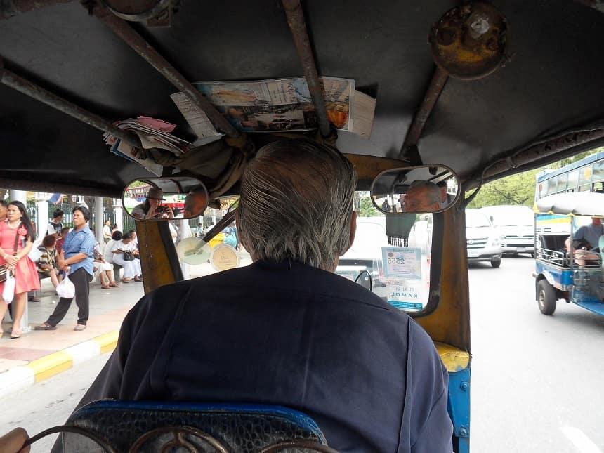 Ritje in een tuktuk
