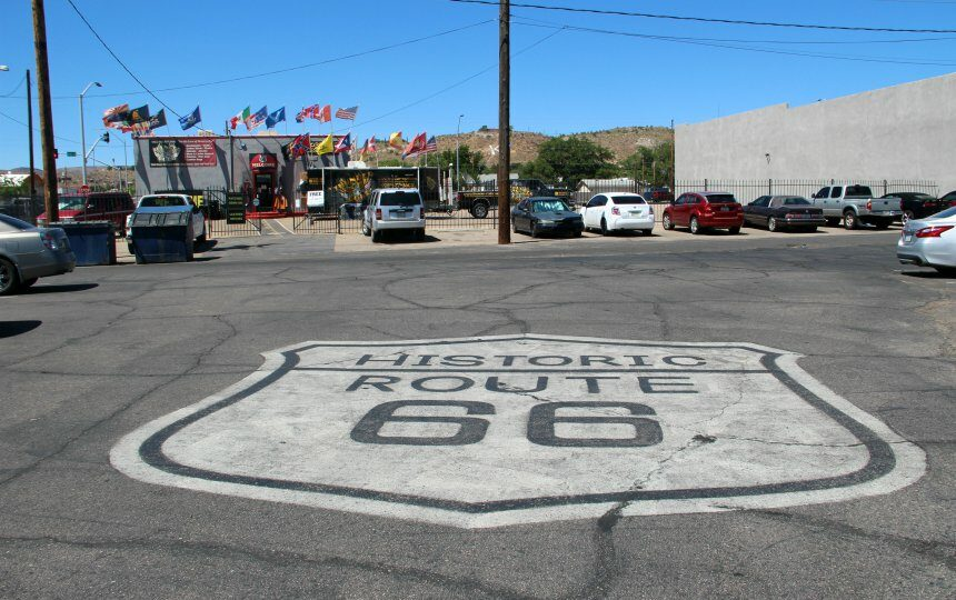 Rijd over de historische Route 66