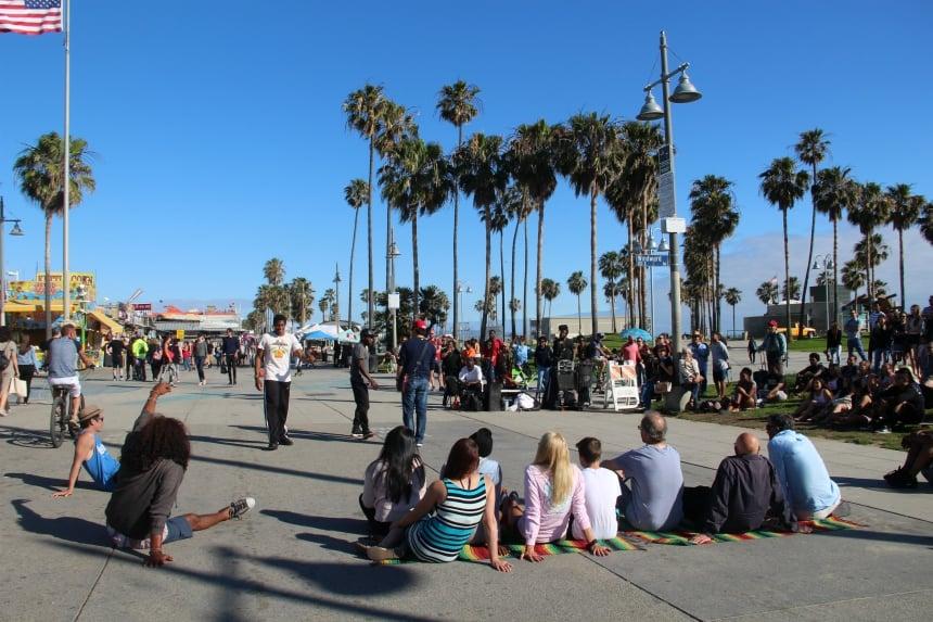 Het levendige Venice Beach was mijn favoriete stuk van Los Angeles