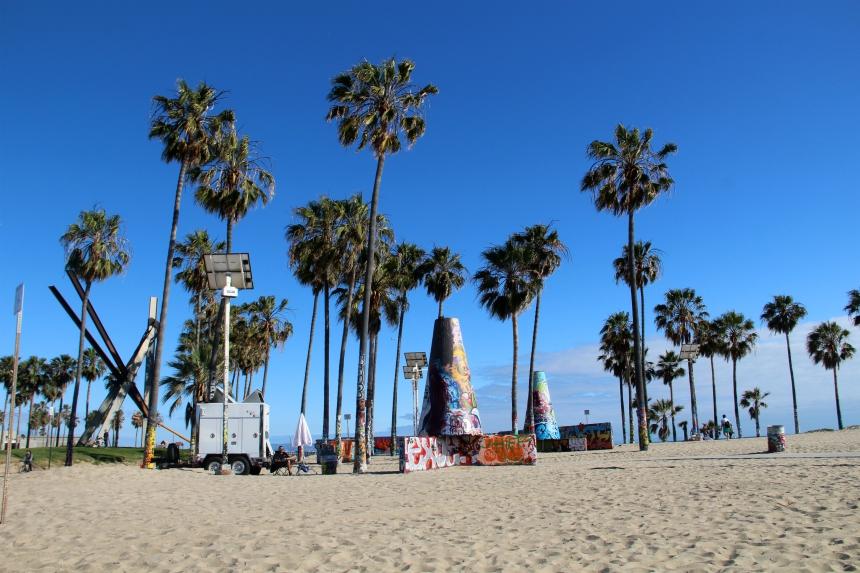 Venice Beach is het leukste deel van Los Angeles