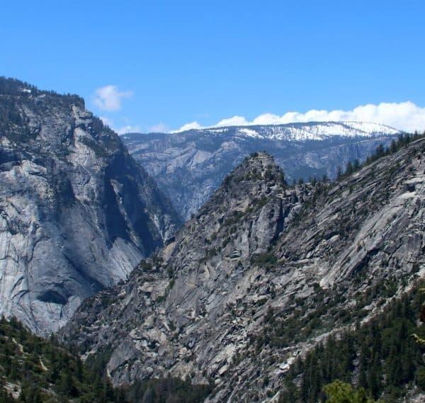 Yosemite National Park Mist Trail, wandelen in Amerika