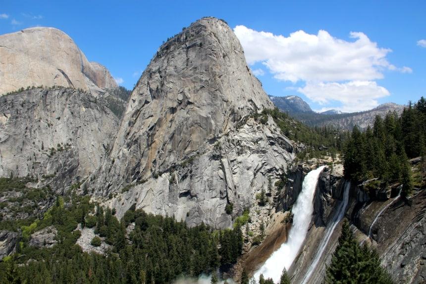 De Mist Trail is één van de mooiste hikes van Yosemite