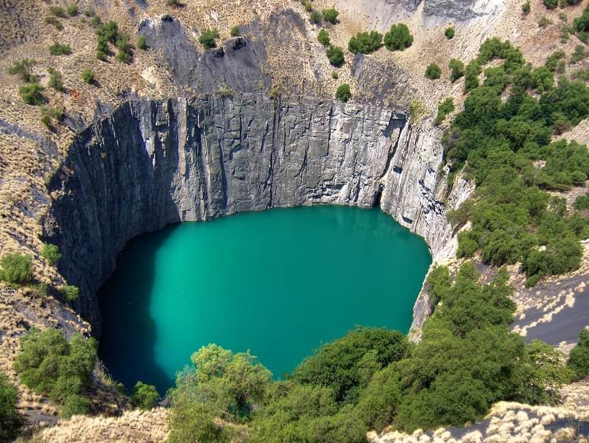 The Big Hole, Kimberley, indrukwekkende natuur met een rijke historie