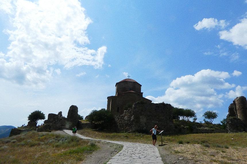 Het Dzjvariklooster in Mtskheta