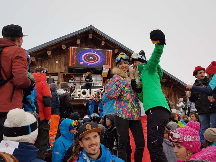 La Folie Douce: knallende feesten op de piste in een van de mooiste wintersportgebieden van Frankrijk