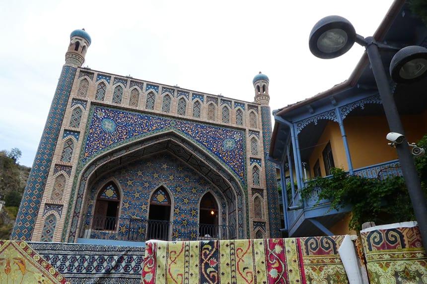 Badhuis in de Turkse wijk in Tbilisi