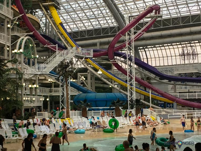 glijbanen World Water Park West Edmonton Mall