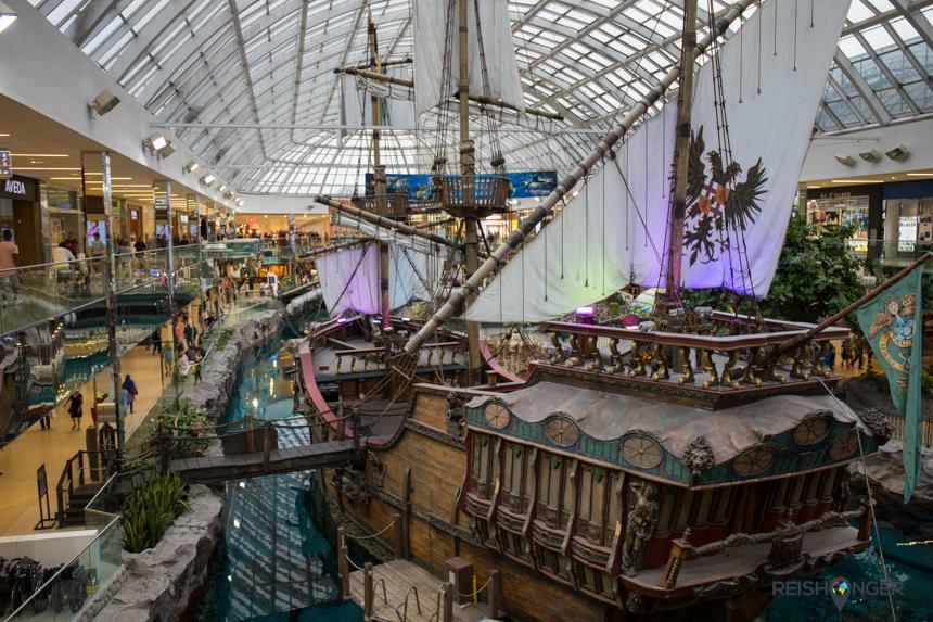 piratenschip West Edmonton Mall