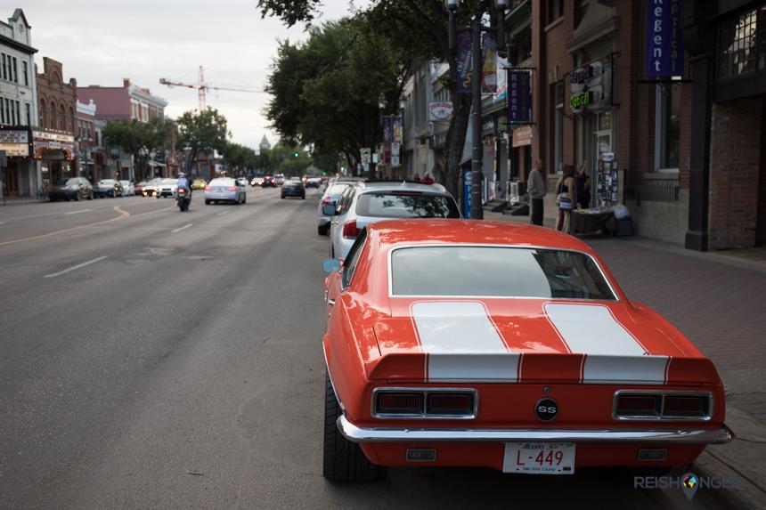 82nd Street Old Stratcona Edmonton