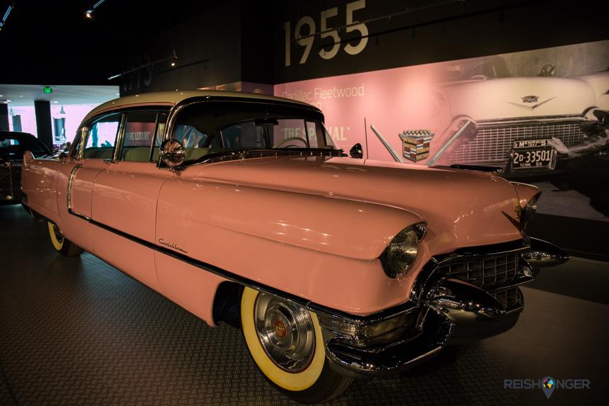 Elvis' roze Cadillac