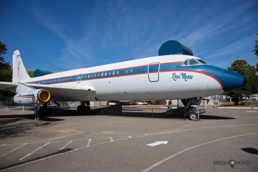 Lisa Marie, vliegtuig van Elvis
