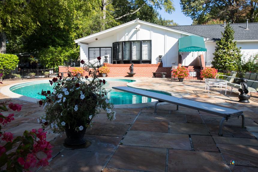 Zwembad van Elvis, Graceland