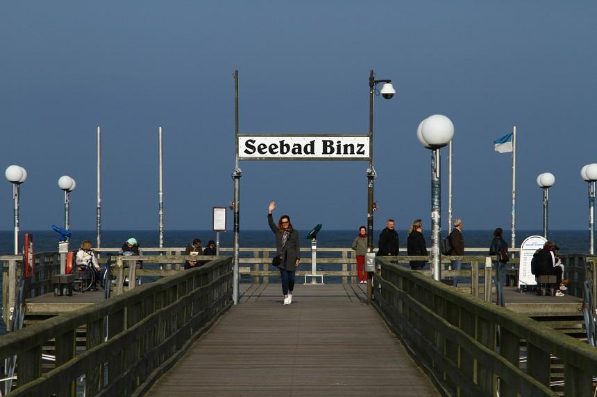De pier van Binz