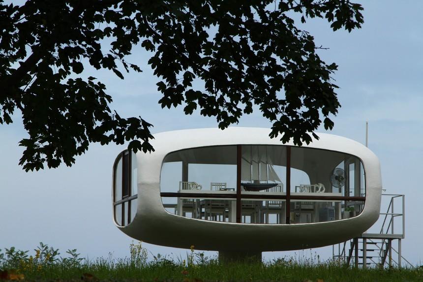 Een oude strandwachtpost in Binz doet nu dienst als trouwlocatie