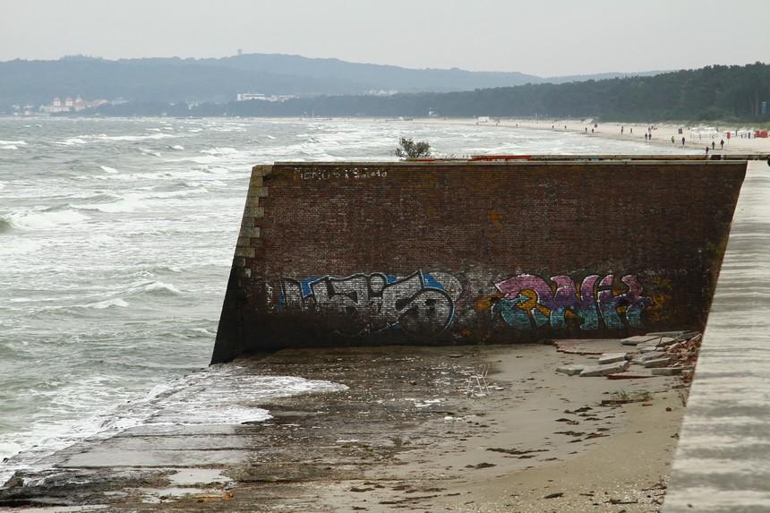 Het strand bij Prora