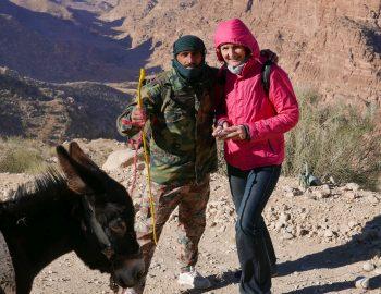 Jordanië in de winter – wandelen in Dana