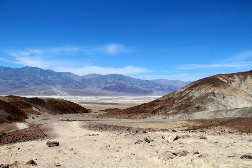Roadtrip door Death Valley