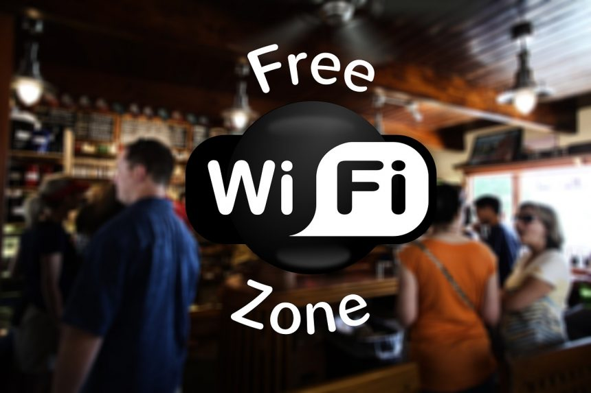 veilig op reis - gratis WiFi hotspot