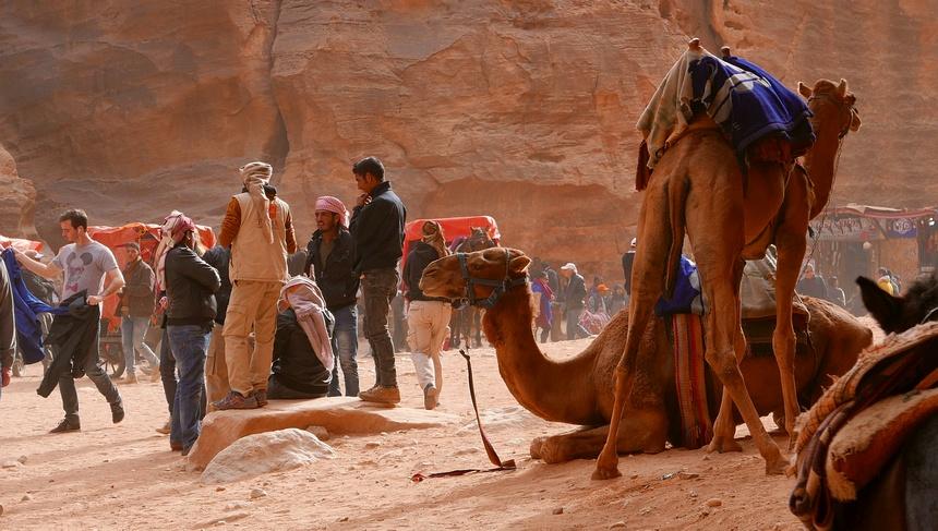 Handel in goud, wierook en mirre brachten rijkdom naar Petra.