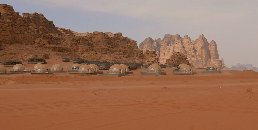 In Wadi Rum werd o.a. de film The Martian opgenomen.