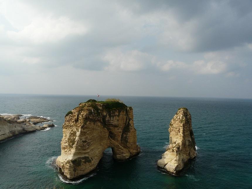 Pigeon Rocks Beiroet