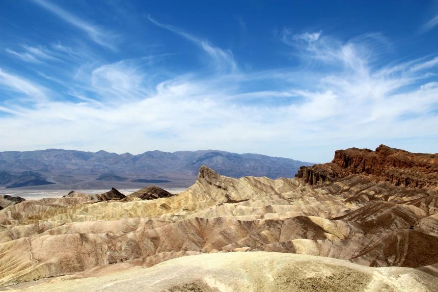 Het fantastische Zabriskie Point in Death Valley, Amerika. Foto's en tekst door Sascha van Zonsbeek