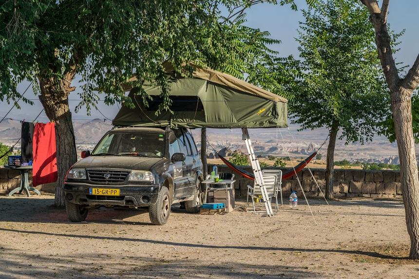 camping cappadocie
