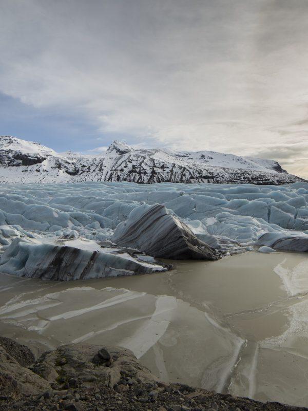 ijsland gletsjer