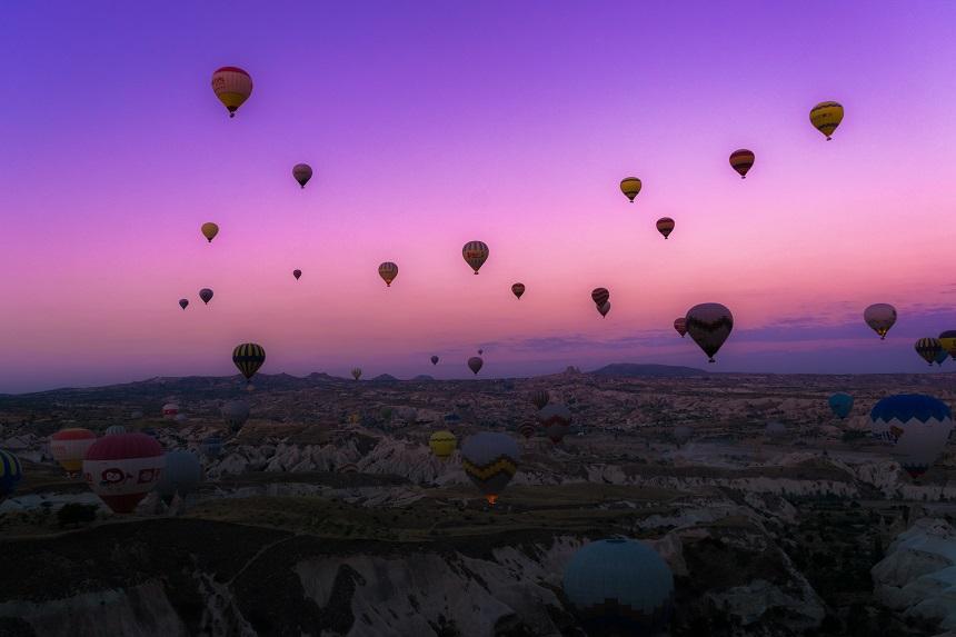 heteluchtballonnen Goreme