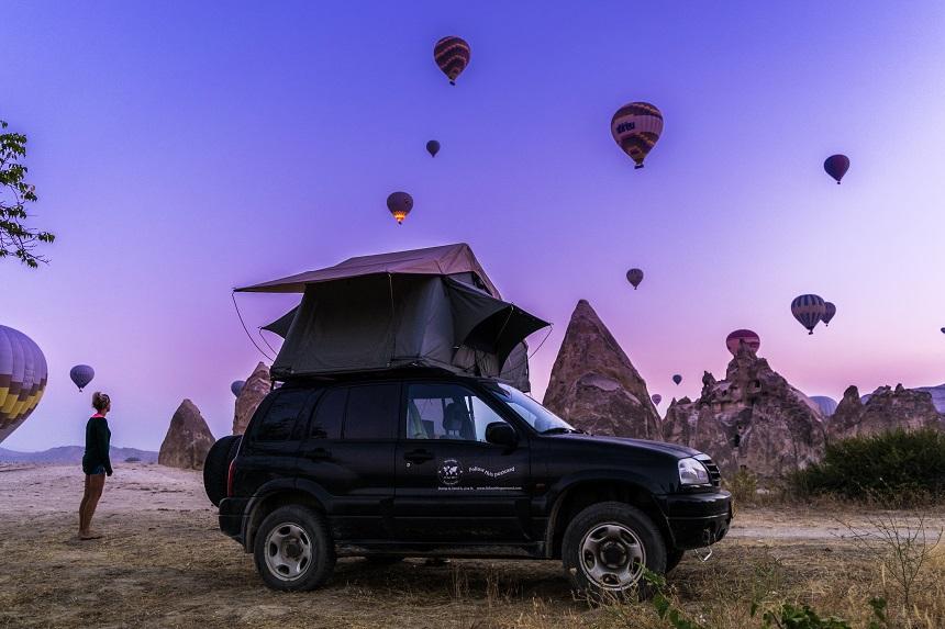heteluchtballonnen cappadocie