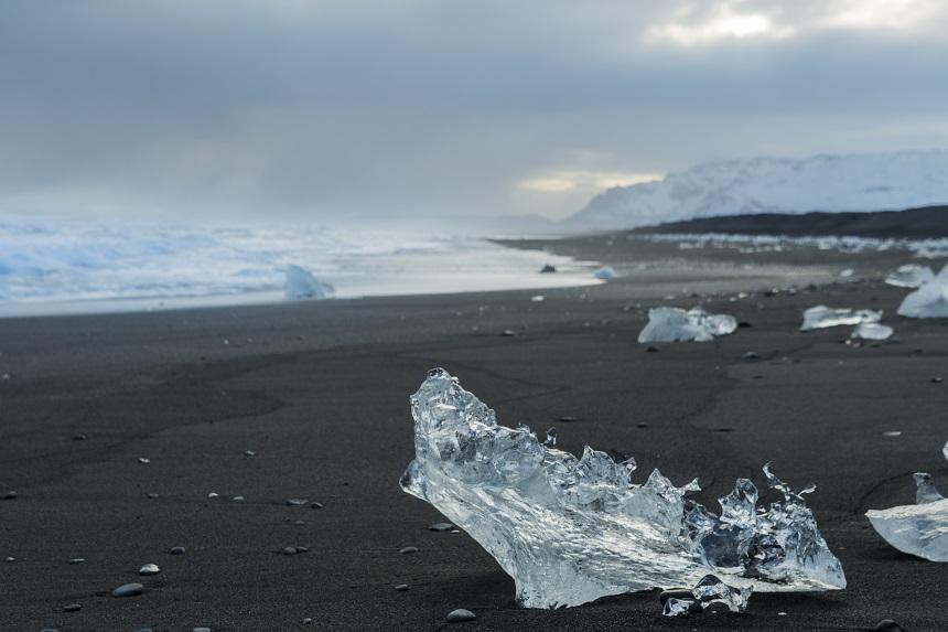 ijsschotsen diamondbeach