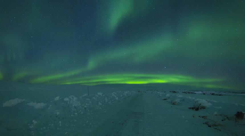 Noorderlicht Borgarnes IJsland