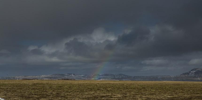 Regenboog IJsland