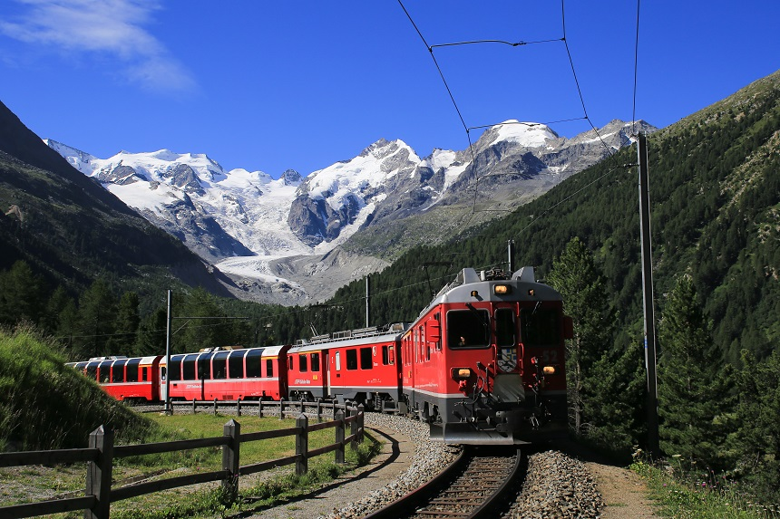 trein is beter voor het milieu