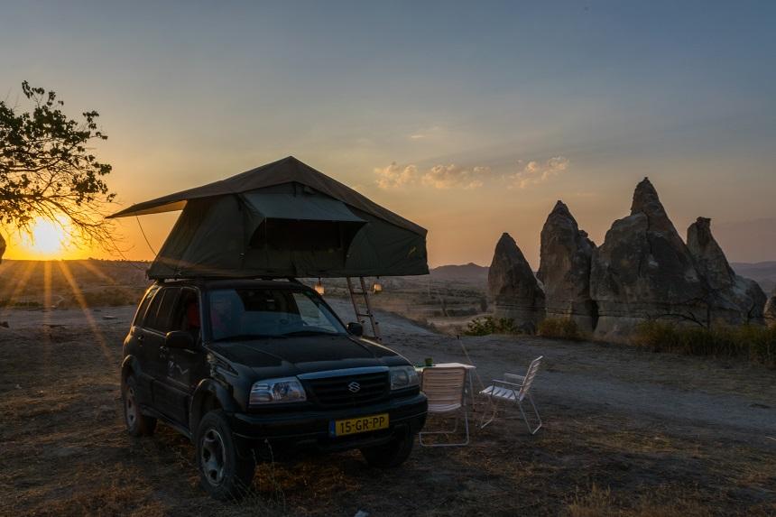 wildkamperen cappadocie