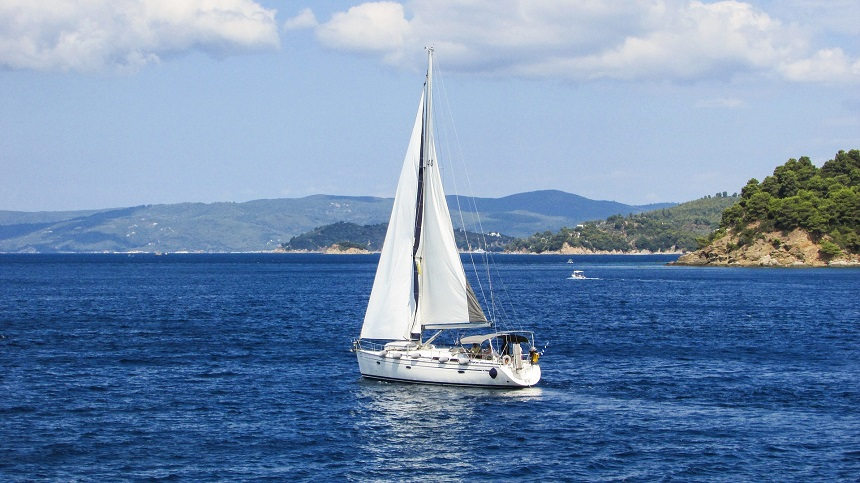 Heerlijk zeilen in Griekenland