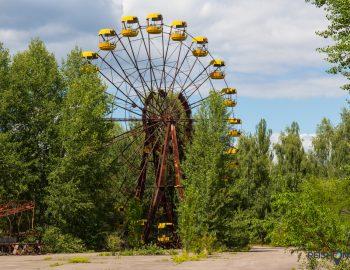 Ramptoerist in Chernobyl